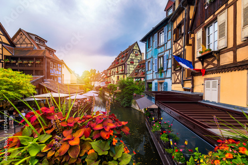 Colmar, Alsace, France Canvas Print