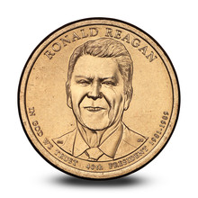 American One Dollar Coin With ...