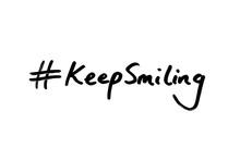 Hashtag Keep Smiling