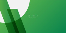 Simple Green White Abstract B...