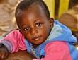 canvas print picture - Kleiner afrikanischer Junge