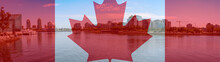 Canadian Flag Composite With C...