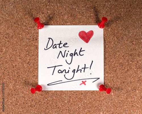 Date Night Wall mural