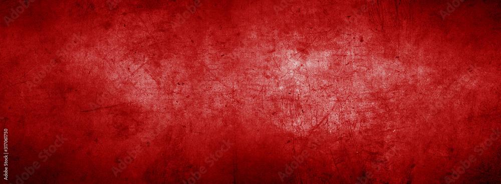 Fototapeta Red textured background