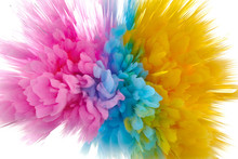 Colored Powder Explosion. Abst...