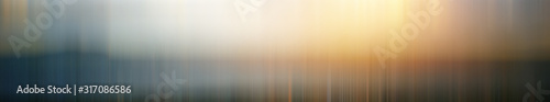 Fotografía Blurred gradient background long horizontal