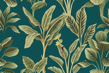 Tropical Vintage Botanical Pal...