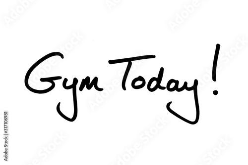 Cuadros en Lienzo Gym Today!