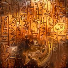 Ancient Egypt. Digital Paintin...