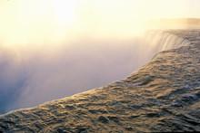 Niagara Falls At Sunrise, Canada