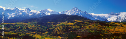 Fototapeta Wilson Peak, San Juan National Forest, Colorado obraz