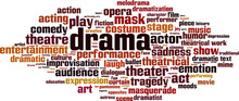 Drama Word Cloud