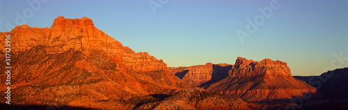 Fényképezés Zion National Park At Sunset, Utah