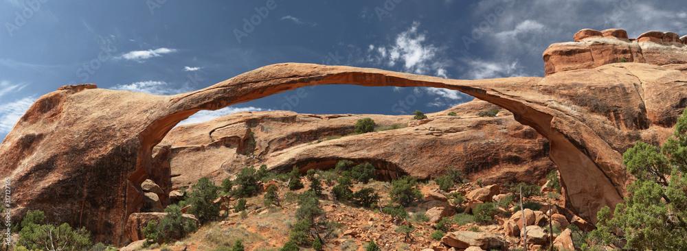 Fototapeta Landscape Arch Panoramic, Arches National Park