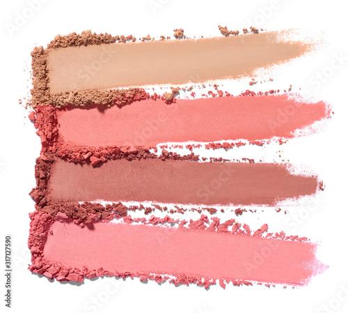 Photo face powder beauty make up blush