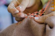 Weaving Working Hands Of Colombia