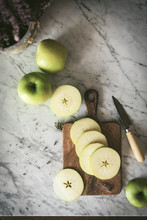 Fresh Ripe Green Apple