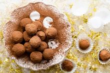 Homemade Chocolate Truffles Co...