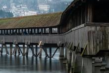 Covered Bridge Near The Lucern...