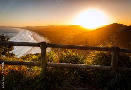 Fotografía Byron Bay at sunset,  Australia
