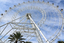 The Wheel At ICON Park In Orlando, Florida