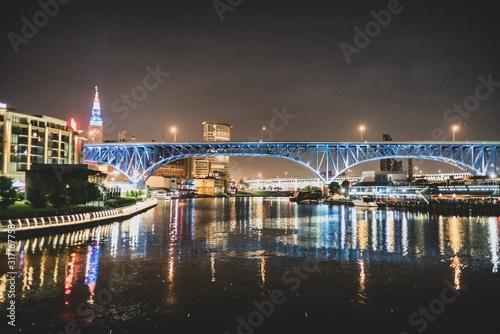 Cuyahoga River Tapéta, Fotótapéta