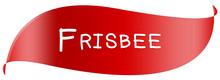 Web Sport Label Frisbee