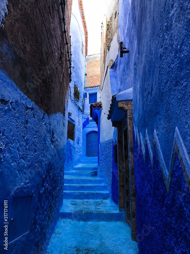 Colourful sightseeing in Chefchaouen, the blue city of Morocco