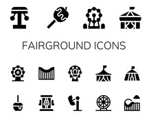 Fairground Icon Set