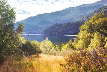 Panel Szklany Rzeki i Jeziora Lake in Patagonia