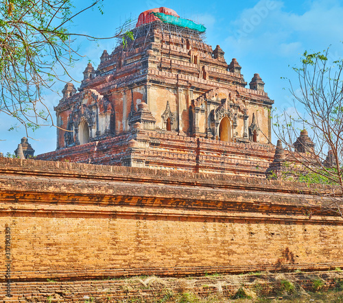 Photo Dhammayangyi Temple, Bagan, Myanmar