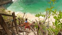 Steps To A Beach