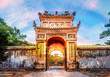 Historic Tu Duc Tomb in the city of  Hue in Vietnam
