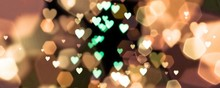 Abstract Background Of  Bokeh ...