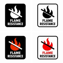 Flame Resistance, Fire Resista...