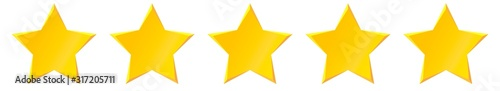 Fotomural Gold Star