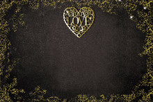 Valentines Day, Golden Heart L...