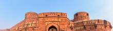 Panoramic Of Agra Fort At Utta...