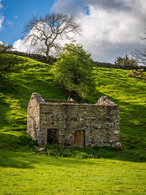 An Old Stone Barn In The Yorks...