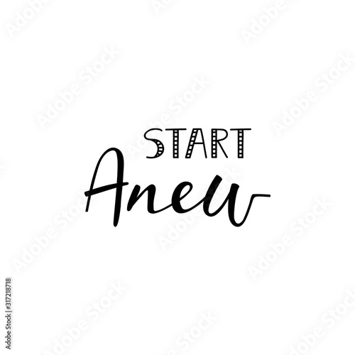 Start anew Wallpaper Mural