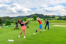 Golftraining Mit Pro