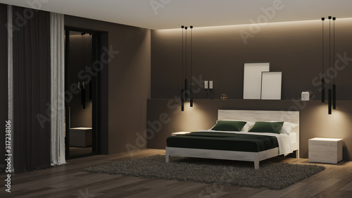 Foto Modern house interior