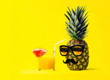 Two Fun Fashion Pineapples Wit...