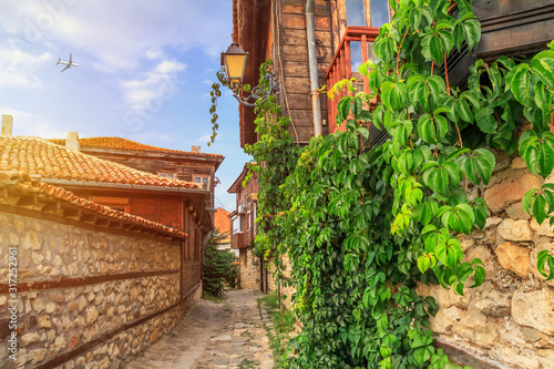 city-landscape-view-of-the-old-streets-and-homes-in-balkan-style-the-old-town-of-nesebar-in-burgas-province-on-the-black-sea-coast-of-bulgaria