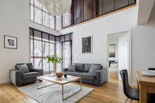 Living Room With Many Windows