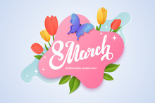 Women's Day Banner Design. 8 M...