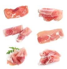 Set Of Delicious Sliced Jamon ...