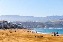Las Canteras Beach (Playa De L...