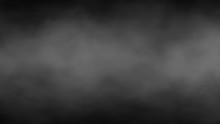 Abstract Fog And Smoke On Blac...