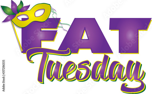 Photo Fat Tuesday Banner